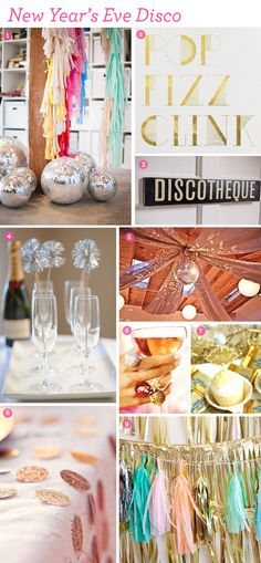 Design Inspiration: New Year's Eve Disco