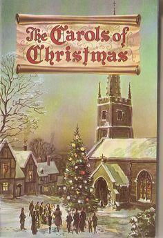 """Vintage Carols of Christmas"" Illustrated booklet"
