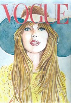 SALE 50 % Off Taylor Swift on Vogue Print from Original Watercolor o Fashion Illustration Celebrity Portrait Wall Art Decor poster by CelebrityTimes on Etsy https://www.etsy.com/listing/173774547/sale-50-off-taylor-swift-on-vogue-print