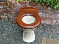 Antique Mahogany High Level Toilet Seat – DragonQuarry Antiques & Restoration