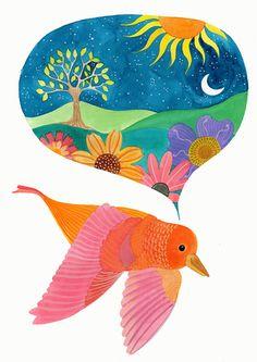 El sueño de un ave