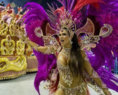 Costumes, dancing and partying. Brazil's Carnival is one of the most famous events in the world. This is something that needs to be experienced at least once.