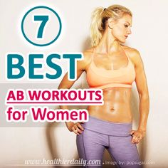 7 Of The Best Ab Workouts for Women at Home