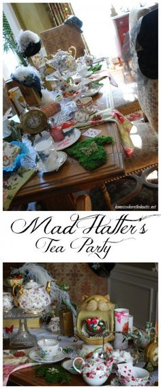Mad Hatter's Tea Party | Home is Where the Boat Is