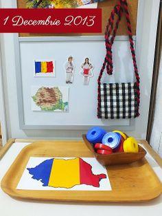 Activitati pentru Ziua Romaniei - Clipe Frumoase cu Ema Romania, Teacher, Day, Frame, 1 Decembrie, 1st December, Kids, Montessori, Homeschooling