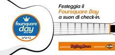 Il primo #FoursquareDay in musica a #Milano --> 16 aprile! #4sqdaytour