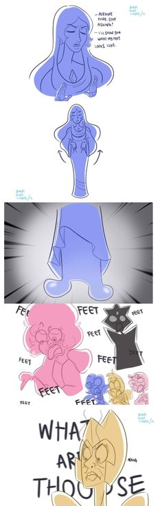 That moment in your drawing when your just give up and make a long dress to cover the legs and feet or super long sleeves to cover their hands 😂 Steven Universe Funny, Steven Univese, Universe Art, Fantasy, Cartoon Network, Anime Manga, Nerdy, Funny Pictures, Funny Memes