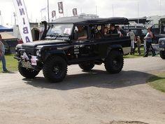 Richard Hammond's Land Rover Defender 110