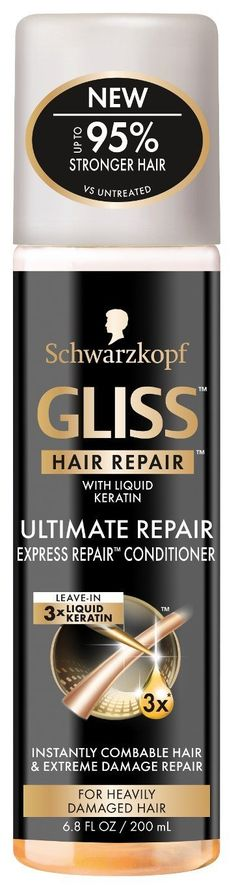 Gliss Conditioner Ultimate Express Repair 6.8 Ounce Spray (200ml) (2 Pack) -- This is an Amazon Affiliate link. Want additional info? Click on the image.