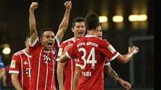 Thomas Mueller Robert Lewandowski doubles power Bayern Munich to complete rout of 10-man Besiktas in Champions League #FCBayern   Thomas Mueller Robert Lewandowski doubles power Bayern Munich to complete rout of 10-man Besiktas in Champions League  Bavaria: Thomas Mueller and Robert Lewandowski netted twice as Bayern Munich thrashed 10-man Besiktas 5-0 on Tuesday in the first leg of their Champions League last 16 tie. Disaster struck for Besiktas after just 16 minutes when Domagoj Vida was…