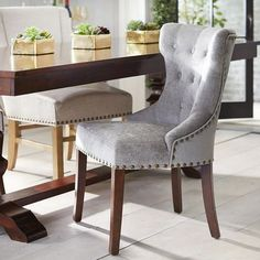 Hourglass Dining Chair   Crush Rain