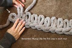 Easy Chunky Hand-Knitted Blanket in One Hour : Easy Chunky Hand-Knitted Blanket. Easy Chunky Hand-Knitted Blanket in One Hour : Easy Chunky Hand-Knitted Blanket in One Hour: 8 Steps (with Pictures) Chunky Yarn Blanket, Hand Knit Blanket, Knitted Blankets, Blanket Scarf, Crib Blanket, Chunky Knits, Baby Blankets, Crochet For Beginners Blanket, Crochet Patterns For Beginners