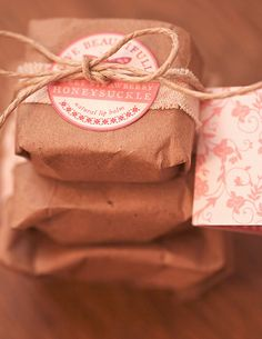 sweet strawberry honeysuckle lip balm, perfume and lotion bar