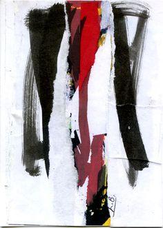 Guazzo + collage
