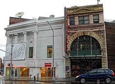 The BRIC Arts Media House and the BAM Harvey on Fulton St. #BAM #BRIC #theatretalks #theatre #Brooklyn #NYC