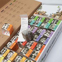 TEA from FARMERS, 16 Loose leaf teas gift set, North Vietnam ...