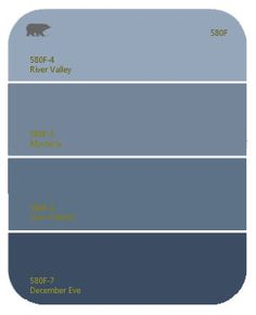 Craft Room Paint: Behr - December Eve. It's a much deeper navy than this swatch would indicate.