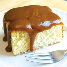 Chef Zeb's Hot Milk Cake: King Arthur Flour