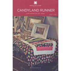 Candyland Runner Pattern by MSQC - MSQC - MSQC