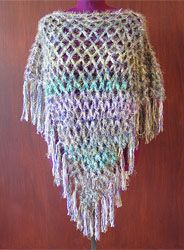 Free Crochet Patterns * Poncho