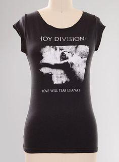 Joy Division Love Will Tear Us Apart Tee - Available at ShopPlasticland.com