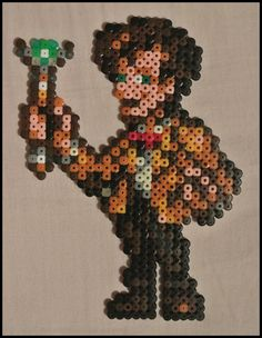 The Eleventh Doctor (Matt Smith) - Doctor Who hama beads by Jelizaveta on deviantART