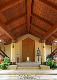 Architecture: Mañosa Designed homes Philippine Architecture, Porte Cochere, Filipino, Philippines, Pergola, Outdoor Structures, House Design, Traditional, Contemporary