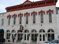 7) Granbury Opera House - Granbury, TX - This old theater is reported to be haunted by a tall figure wearing all black with black boots, and some even say it's John Wilkes Booth. Abraham Lincoln's assassin used to be a very popular actor and performed here many times, and the Discovery Channel Ghost Lab supposedly captured an EVP of Booth's voice saying he was there.