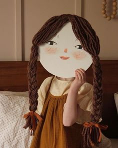Make a Cardboard Face Portrait - Mer Mag Craft Activities For Kids, Projects For Kids, Diy For Kids, Art Projects, Crafts To Do, Crafts For Kids, Arts And Crafts, Paper Crafts, Costume Carnaval