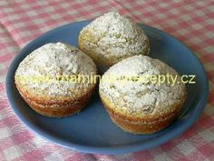makové muffiny Cupcakes, Sweets, Baking, Breakfast, Ethnic Recipes, Sweet Pastries, Bread Making, Breakfast Cafe, Cupcake