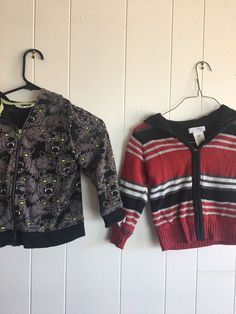 Set of Two Young Men s Boys Wonderkids Sweater Jacket H amp  M Wolf Size 3t   amp c4c6d717f