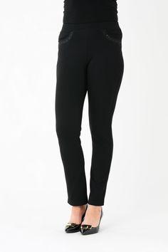 """Embroidered Pocket Trouser 29"""" leg"""
