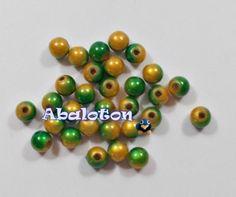 bolas acrilicas efecto miracle 6mm