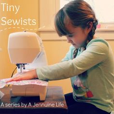 Tiny Sewists: Teaching Kids to Sew :: Setup and Safety - A Jennuine Life