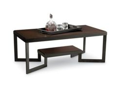 Shop For Lane Home Furnishings Kennedy Coffee Table W Removable Tray 12067 01