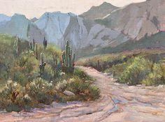 Morning after Monsoon by Nancy Romanovsky Oil ~ 9 x 12