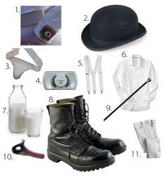 Droog Outfit clockwork orange - Google Search