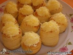 Érdekel a receptje? Kattints a képre! Savory Pastry, Torte Cake, Hungarian Recipes, Hungarian Food, Salty Snacks, Cake Recipes, Bakery, Muffin, Sweets