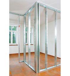 Metallständerwerk bauen Home Design, Shed Design, Building Design, Wall Design, Building A House, Bedroom False Ceiling Design, Bedroom Bed Design, Steel Frame House, Steel House