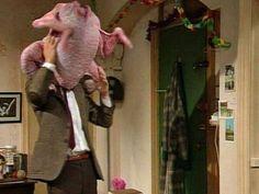 A Classic!  Mr Bean and the Christmas Turkey -- Mr. Bean und der Weihnachts-Truthahn