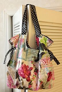 The Lucille bag pattern by Abby Lane Quilts