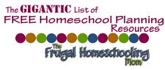 Best Free Homeschool Planners and Calendars 2015-2016 | The Frugal Homeschooling Mom
