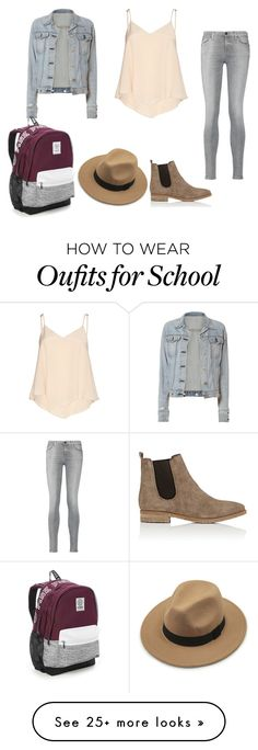 """""""back to school"""" by crazystyle123awesome on Polyvore featuring Alice + Olivia, rag & bone, 7 For All Mankind, Barneys New York and Victoria's Secret"""