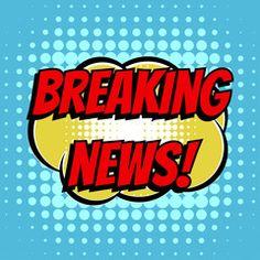 Breaking news comic book bubble text retro style Comic Book Bubble, Corporate Brochure, Brochure Trifold, Pop Art Decor, Comic Text, Art Icon, Vector Art, Retro Fashion, Royalty Free Stock Photos
