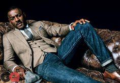 Idris Elba for GQ - October 2013