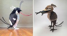 Artist Robert Benavidez Recreates Figures From Hieronymus Bosch's Paintings as Sculptural Piñatas Hieronymus Bosch Paintings, Paper Art Projects, Renaissance Artists, Colossal Art, Dutch Painters, First Art, Equine Art, Prado, Abstract Landscape