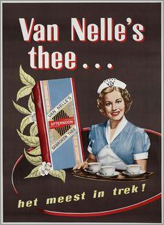 Voor Van Nelle thee 1954