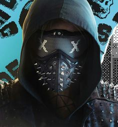 Watch Dogs is unveiled to the world with new trailers and Watch Dogs 2 Mask, Watch Dogs 1, Wrench Watch Dogs 2, Party Face Masks, Party Eyes, What Dogs, Dog Halloween, Profile Photo, Dog Pictures
