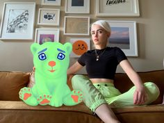 Olive Allen's Arty Koalas Comment On Tech, Corona And Climate - TheArtGorgeous Work In New York, New Work, Guerrilla Girls, New Media Art, Art And Technology, Medium Art, Art World, No Time For Me, Color Mixing