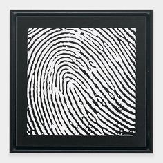 Personalized Thumbprint Portrait